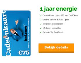 EnergieDirect bol.com actie