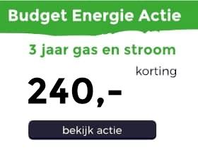 Budget energie actie