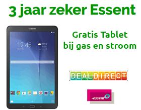 Essent energie met gratis tablet