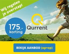 Qurrent energie actie 175 korting