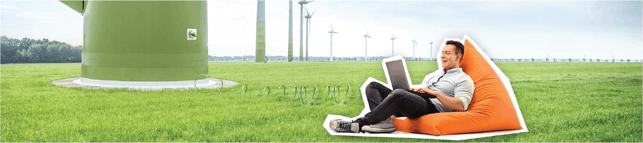 Pure-energie energie actie: Pure Energie 1 jaar alleen stroom actie