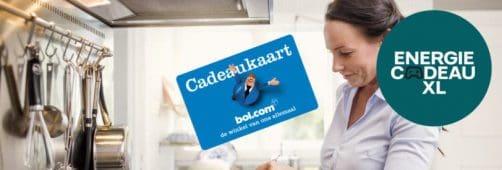 Nuon energie actie: Nuon Vattenfall: gratis Bol.com cadeaubon t.w.v. € 200,-