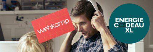 Nuon energie actie: Nuon Vattenfall: gratis Wehkamp cadeaubon t.w.v. € 200,-