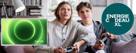 Nuon energie actie: Vattenfall actie: gratis Philips Full-HD tv t.w.v. € 299,-