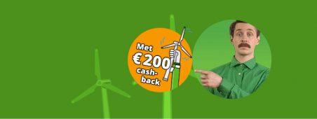 EnergieDirect energie actie: Energiedirect.nl actie: € 200,- cashback