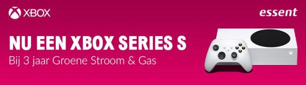 Essent energie actie: Essent aanbieding: gratis Xbox Series S