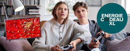Nuon energie actie: Vattenfall actie: gratis LG Full-HD tv t.w.v. € 349,-